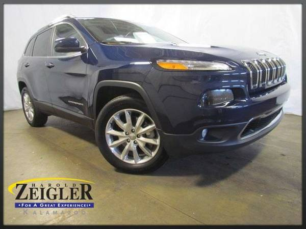 2016 *Jeep Cherokee* Limited - Blue