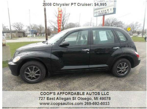 2008 Chrysler PT Cruiser Price Drop! FINANCING AVAILABLE!!