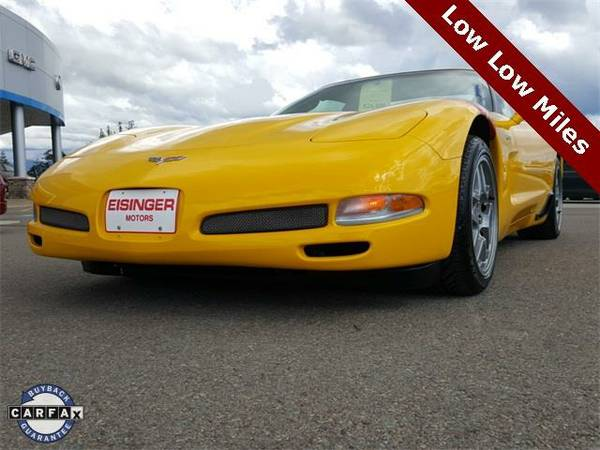 2003 *Chevrolet Corvette* Z06 - (Millennium Yellow) 8 Cyl.