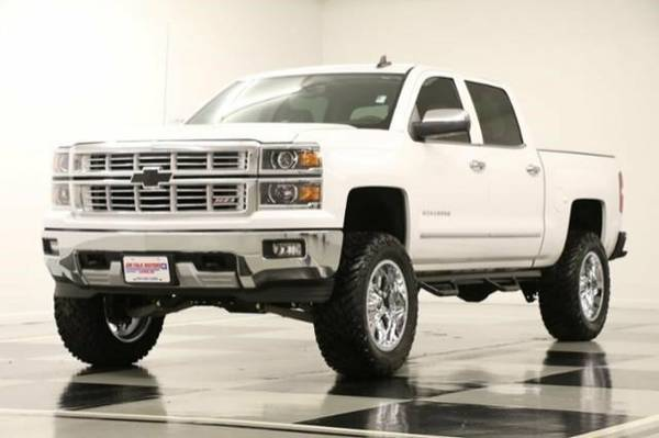 *LIFTED SILVERADO 1500 4WD - GPS* 2015 Chevy *COOLED LEATHER-5.3L V8*