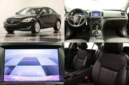 *LUXURIOUS Black REGAL TURBO* 2014 Buick *HEATED LEATHER - CAMERA*