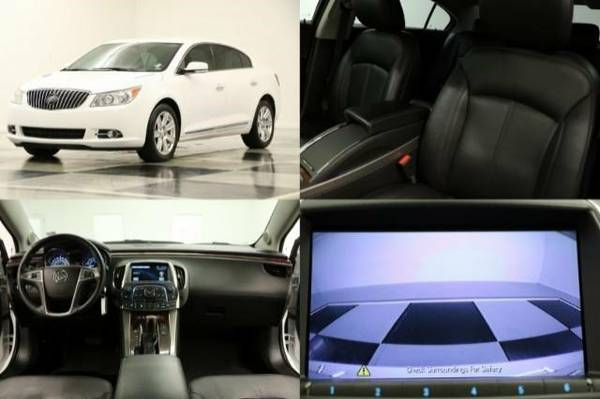 *LACROSSE w CAMERA* 2013 Buick *$291/MO - HEATED LEATHER*