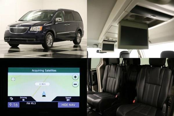 *HEATED LEATHER - TOWN & COUNTRY* 2013 Chrysler *DVD Player- GPS NAV*