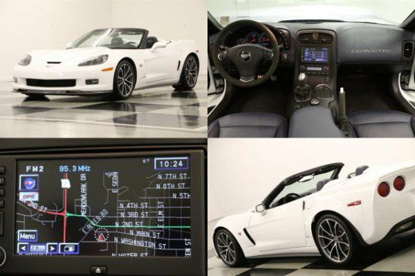 *CORVETTE 427 - LEATHER* 2013 Chevy * POWERFUL 7.0L - GPS*
