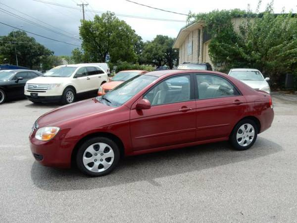 2007 Kia Spectra EX Runs and Looks Good Automatic Gas Saver