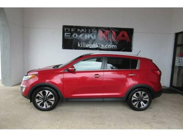 2012 *Kia Sportage* SX - (Signal Red)
