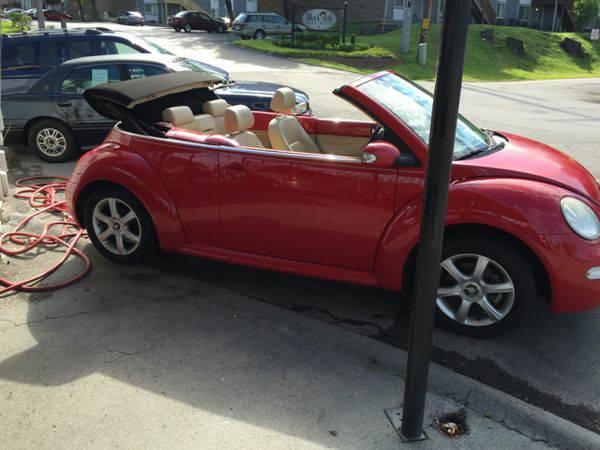 2005 *Volkswagen* *New* *Beetle* GLS 1.8T 2dr Turbo Convertible...