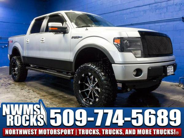 Lifted 2013 *Ford F150* FX4 4x4 - Brand New Lift Kit! 2013 Ford F-150