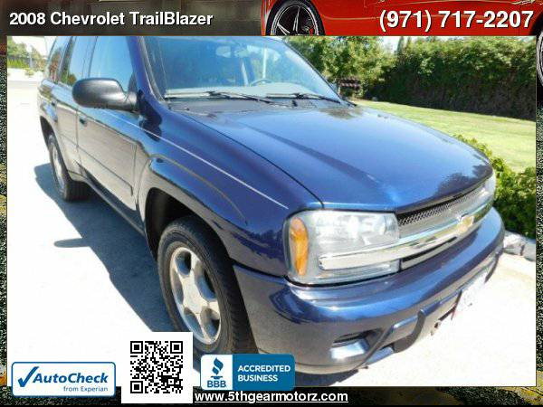 2008 Chevrolet TrailBlazer LS 4X4 *ONLY 115K!* CALL
