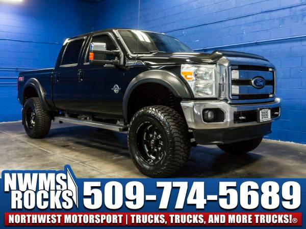 Lifted 2012 *Ford F250* Lariat 4x4 - Premium Wheels! 2012 Ford F-250...