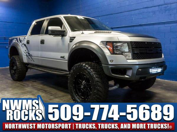 Lifted 2012 *Ford F150* SVT Raptor 4x4 - 2012 Ford F-150 SVT Raptor...