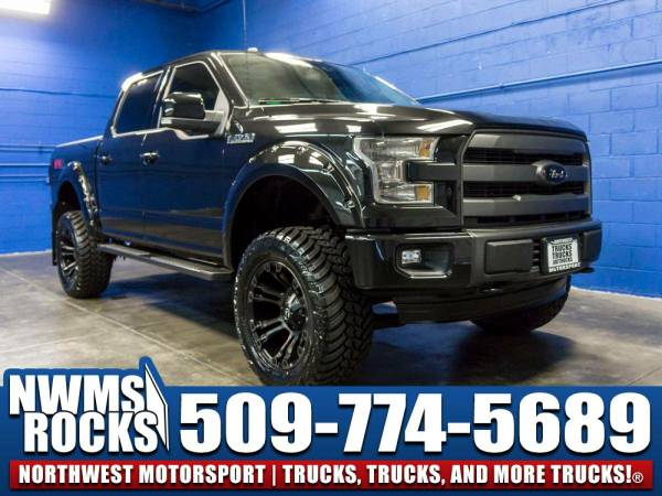 Lifted 2015 *Ford F150* Lariat 4x4 - BRAND NEW LIFT KIT! 2015 Ford...