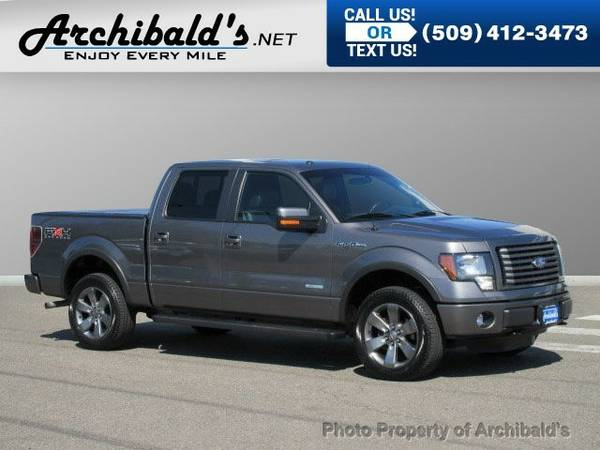 2011 Ford F-150 4WD SuperCrew Truck F-150 Ford