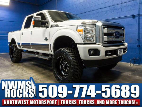 Lifted 2015 *Ford F350* Platinum 4x4 - Off Road Tires! 2015 Ford...