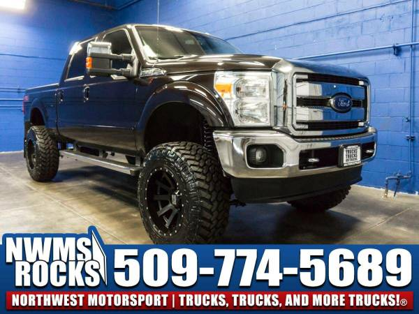 Lifted 2013 *Ford F350* Lariat 4x4 -
