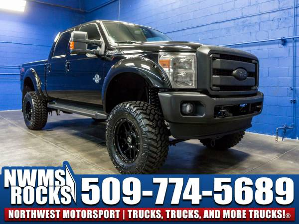 Lifted 2016 *Ford F350* Lariat 4x4 - 2016 Ford F-350 Lariat 4x4...