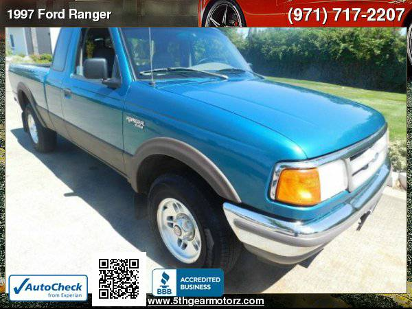 1997 Ford Ranger Supercab XLT Splash 4X4 *4.0! Manual!*