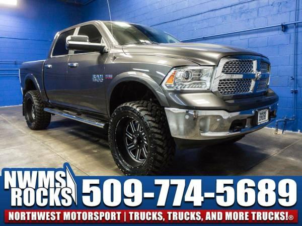Lifted 2015 *Dodge Ram* 1500 Laramie 4x4 - Alpine Sound System! 2015...