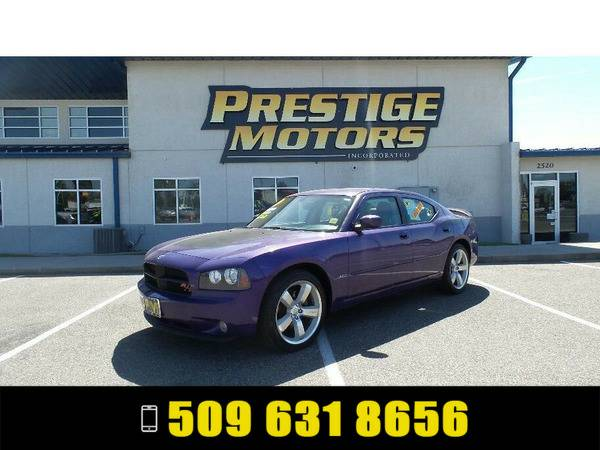 2007 Dodge Charger Purple