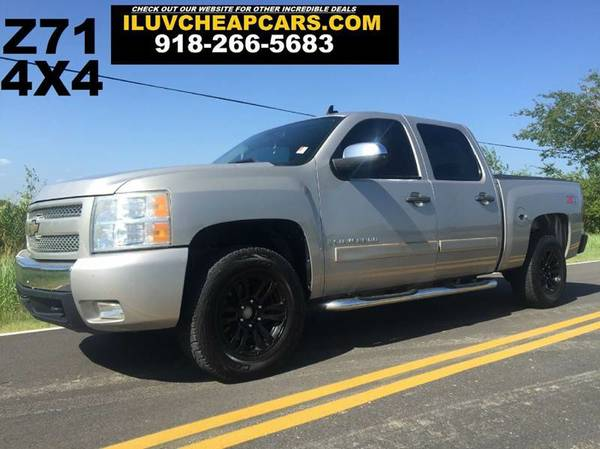 2008 CHEVY SILVERADO Z71 CREW CAB WITH WHEELS - GREAT TRUCKS!!