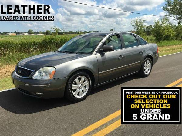 ** CHEAP CARS ** 2006 FORD FIVE HUNDRED ** 4DR ** LEATHER!!