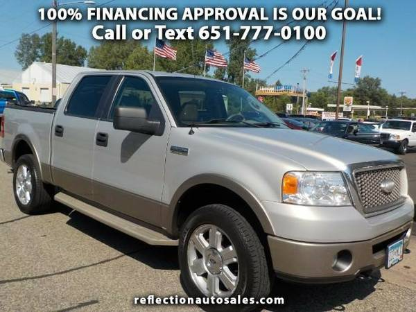 2006 Ford F-150 Lariat SuperCab 5.5-ft. Bed 4WD Truck F-150 Ford