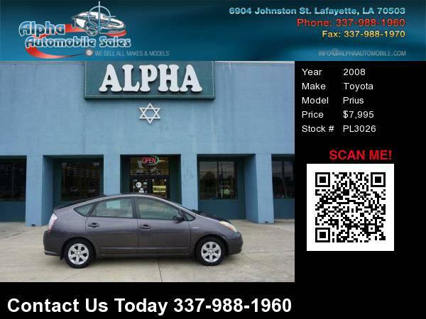 2008 Toyota Prius 4 Dr Hatchback
