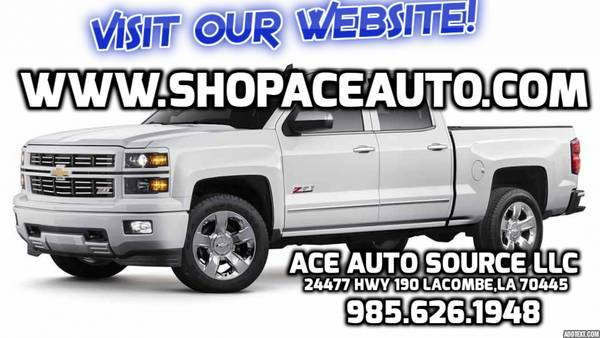 Work Trucks! We have several White Fleet Trucks available! Look