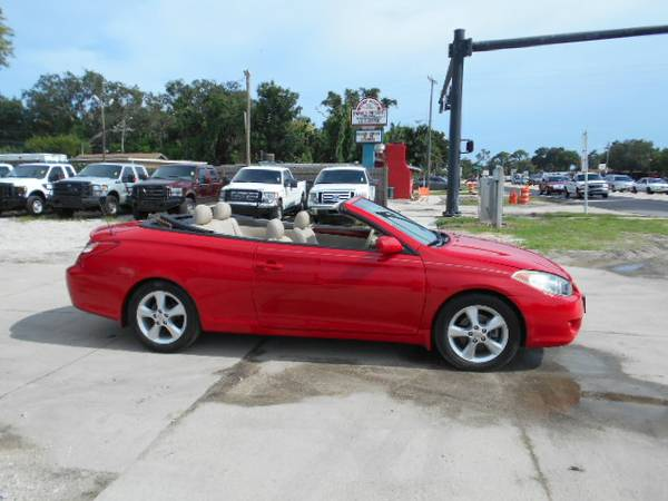 2006 Toyota Camry Solara Convertible 100% Financing & Leasing