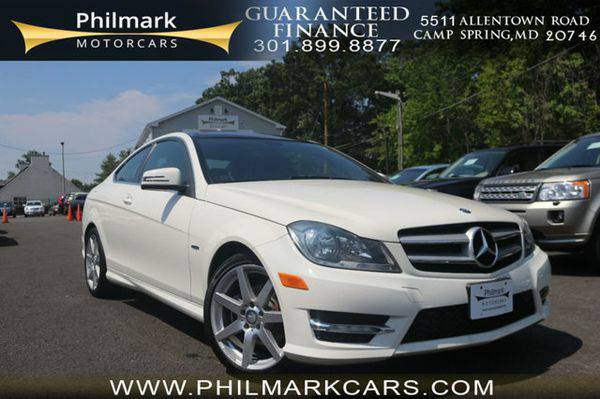 2012 *Mercedes-Benz* *C-Class* 2dr Coupe C250 RWD Moving Units! $795...