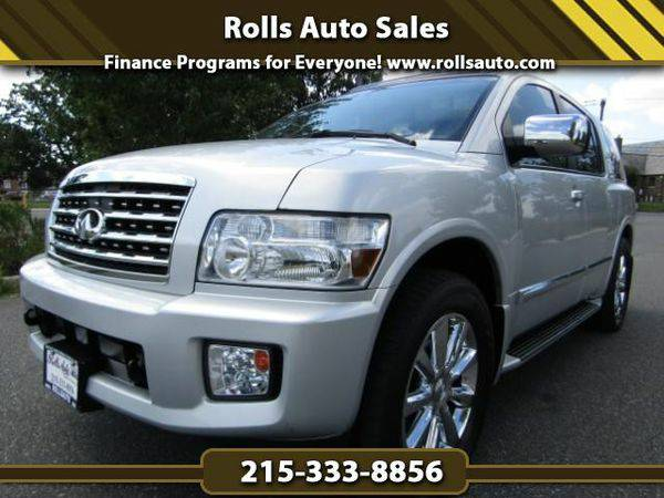 2008 *Infiniti* *QX56* AWD From $495 Down! EZ Financing