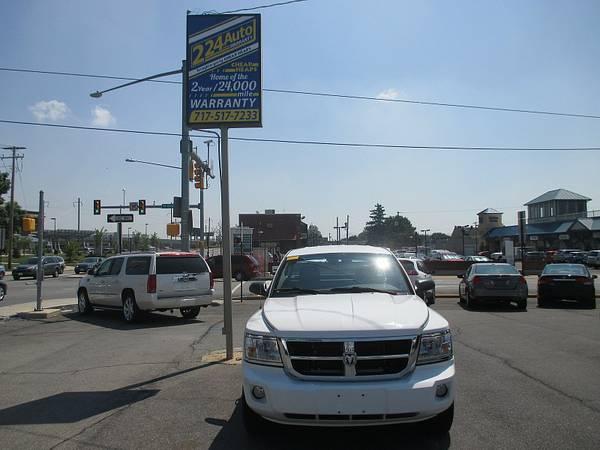 2010 DODGE DAKOTA X CAB 4X4 65000 LOW LOW MILES GUARANTEED CREDIT APPR