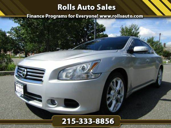 2013 *Nissan* *Maxima* SV From $495 Down! EZ Financing