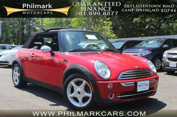 2005 *MINI* *Cooper* *Convertible* 2dr Convertible Moving Units! $795