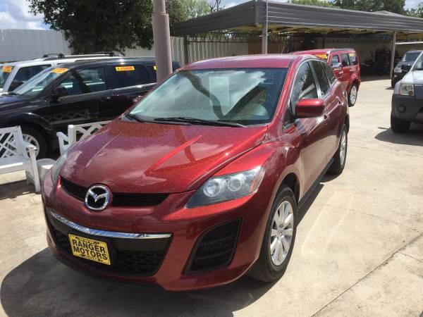 2010 MAZDA CX-7 RED