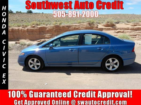 2006 Honda Civic EX 4dr Sedan w/Automatic *IN HOUSE FINANCING*