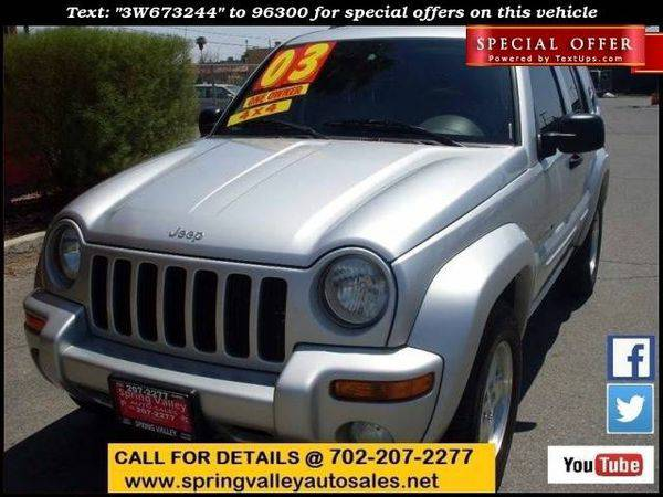 2003 *Jeep* *Liberty* Limited 4WD 4dr SUV