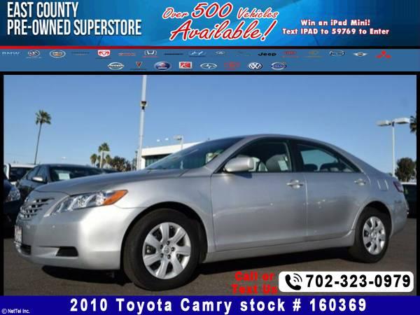 2010 Toyota Camry Stock #160369