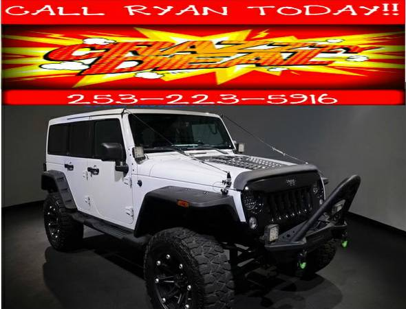 2013 Jeep Wrangler Unlimited Sahara,lifted,leather,heated seats,loaded