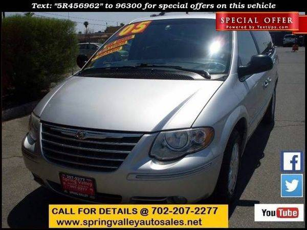 2005 *Chrysler* *Town* *and* *Country* Limited 4dr Extended Mini Van
