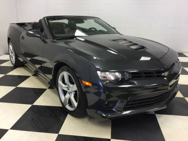 2015 CHEVROLET CAMARO CONVERTIBLE 2SS LEATHER LOADED! BACK UP CAM! HUD
