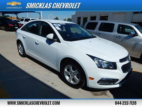 2016 Chevrolet Cruze Limited - *JUST ARRIVED!*