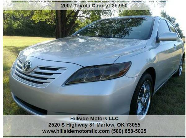 2007 Toyota Camry LE, 160k