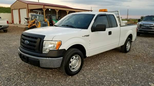 2012 Ford F-150 XL Extended / Super Cab Short Bed 5.0 Gas 2wd F150