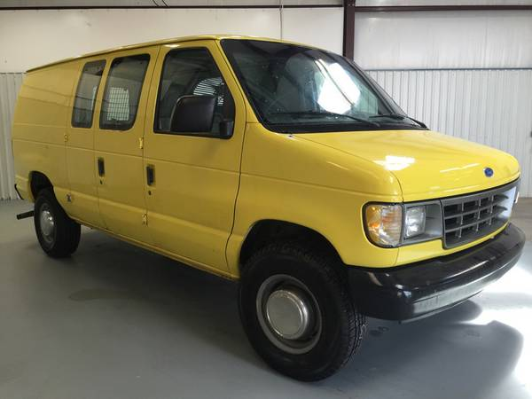 1995 FORD ECONOLINE CARGO VAN**5.8 LITER*V8*NO REAR SEATS**SUPER NICE!