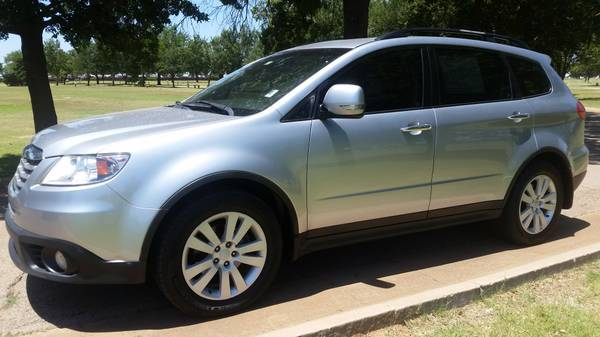 2012 SUBARU TRIBECA TOURING AWD 3RD ROW LEATHER SUNROOF CLEAN CARFAX!!