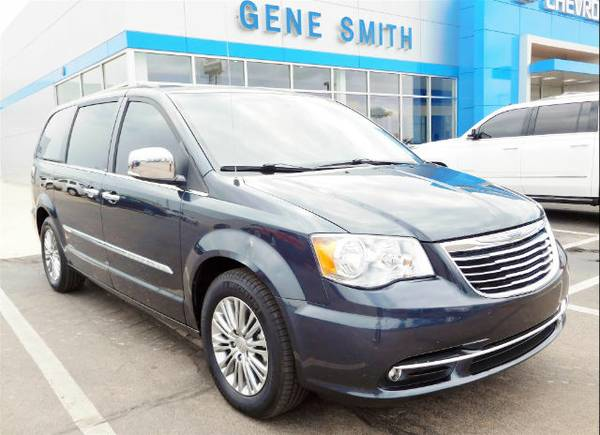 Stock Chrysler Town & Country