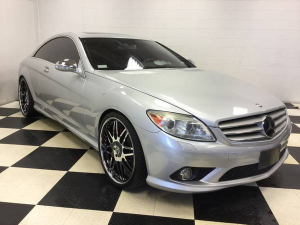 2008 MERCEDES BENZ CL 550 COUPE V8 WHEELS! NAV! SNRF! LTHR! MINT!