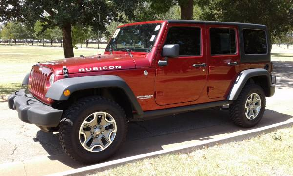 2013 JEEP WRANGLER UNLIMITED RUBICON REMOVABLE HARD TOP ONLY 54K MILES