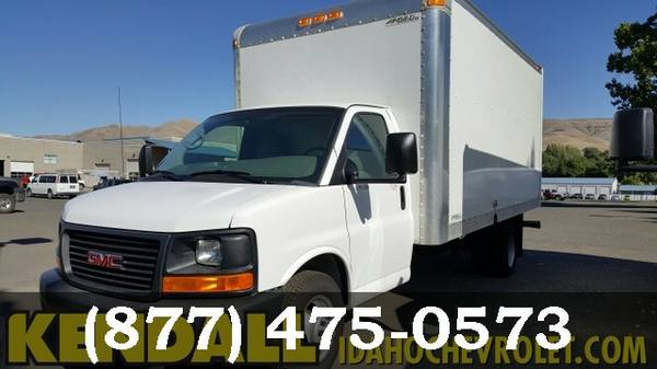 2015 GMC Savana Commercial Cutaway WHITE *Unbelievable Value!!!*